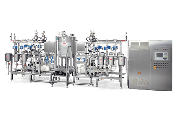 LEWA metering system for the food and beverage industry
