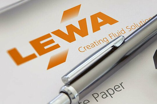 Latest state of research and our expertise in LEWA's withepaper.